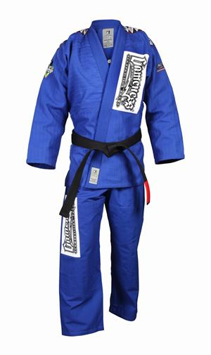 Gameness Platinum Blue Gi